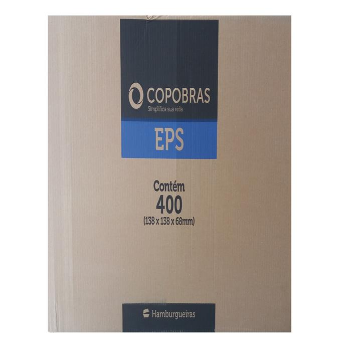 EMB HAMBURGUER H1 CH001 CX400UN COPOBRAS