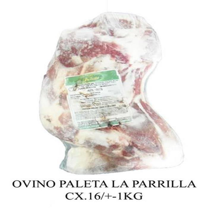 OVINO PALETA LA PARRILLA CX+-16PC/+-2KG
