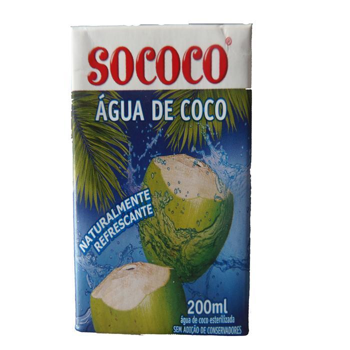 AGUA DE COCO SOCOCO CX.24/200ML