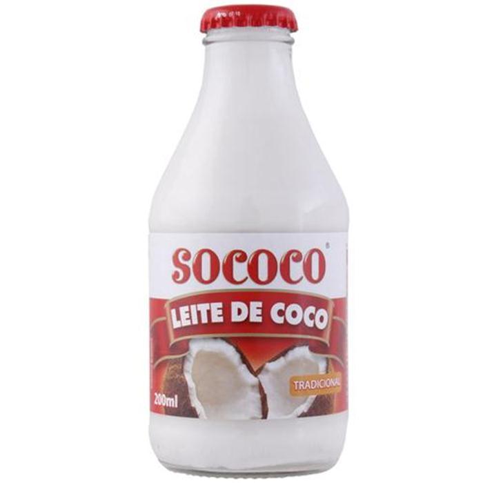 LEITE DE COCO SOCOCO VD CX.24/200ML