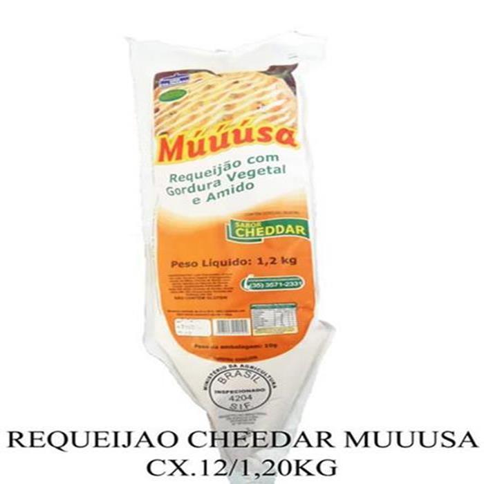 REQUEIJAO CHEDDAR MUUUSA CX.12/1,20KG