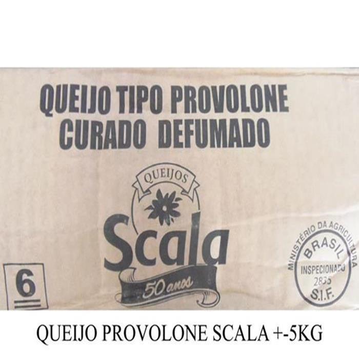 QUEIJO PROVOLONE SCALA CX 1PC/ +-4,70KG