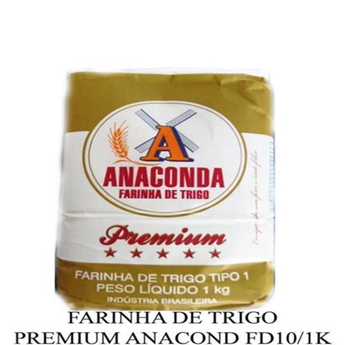 FARINHA DE TRIGO PREMIUM ANACOND FD10/1K