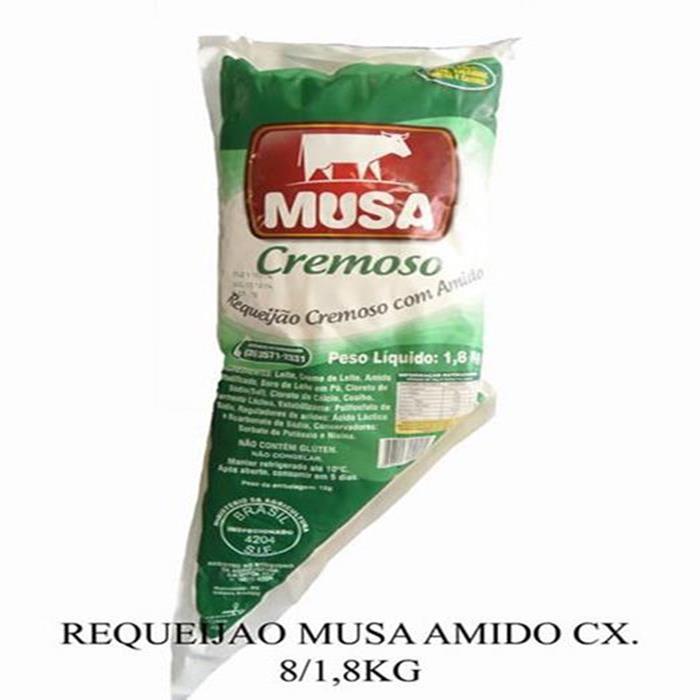 REQUEIJAO MUSA C/AMIDO CX. 8/1,8KG