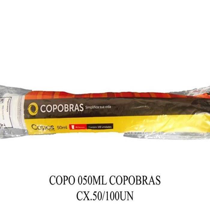 COPO 050ML COPOBRAS CX.50/100UN