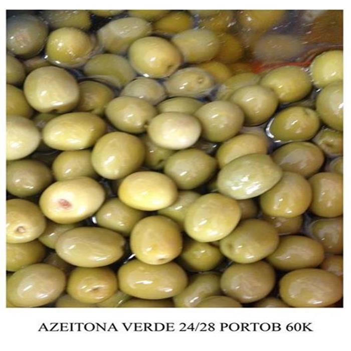 AZEITONA VERDE 24/28 PORTOBELLO CX 6X2KG