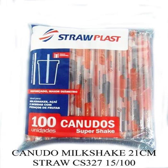 CANUDO MILKSHAKE 21CM STRAW CS327 15/100