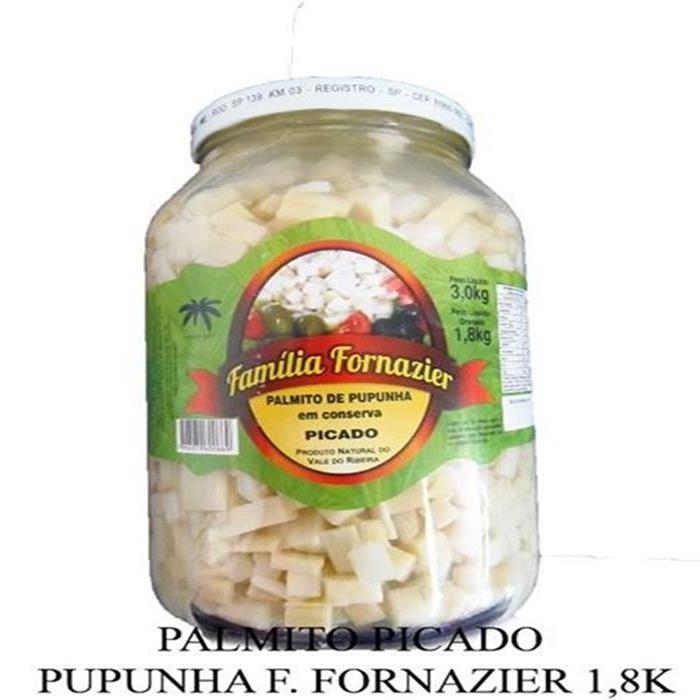 PALMITO PICADO PUPUNHA FORNAZIER 6/1,8K.