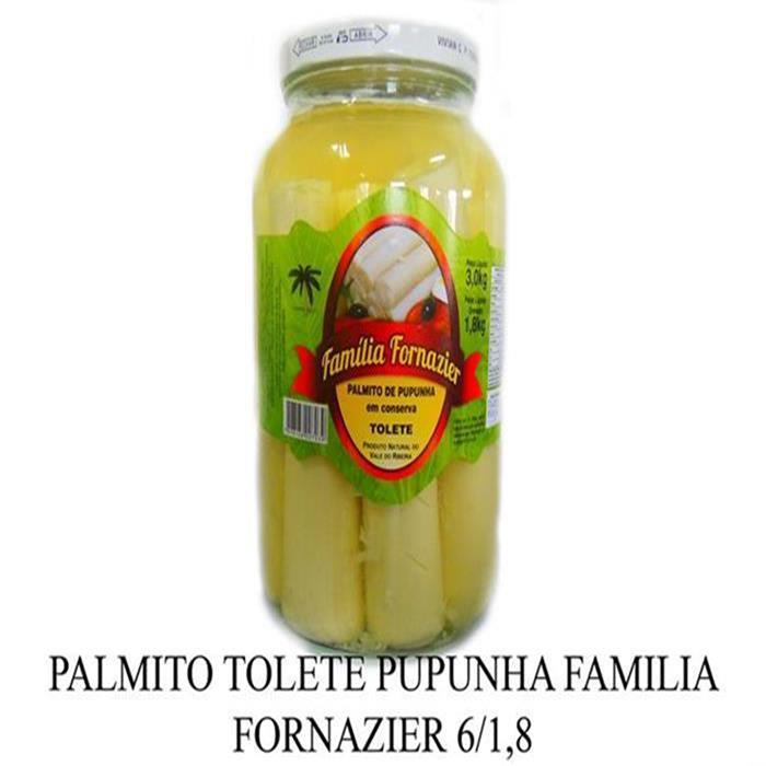 PALMITO TOLETE PUPUNHA F.FORNAZIER 6/1,8