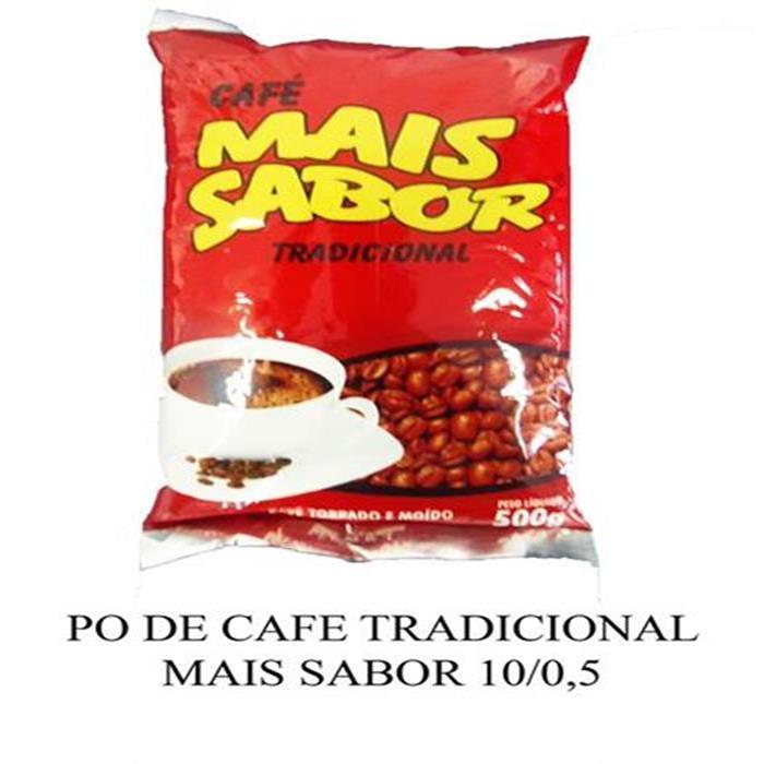 PO DE CAFE TRADICIONAL MAIS SABOR 10/0,5