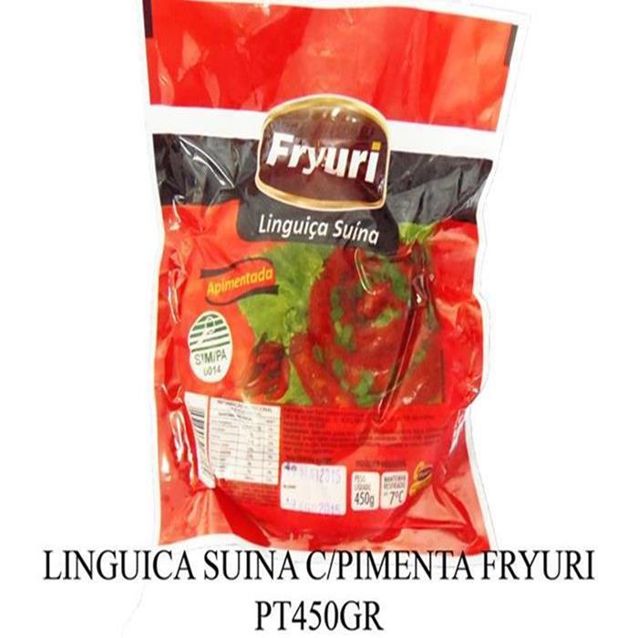LINGUICA FRYURI C/PIMENTA SUINA PT450GR