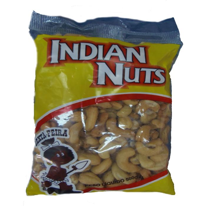 SEMENTE CASTANHA CAJU INDIAN NUTS PT500G