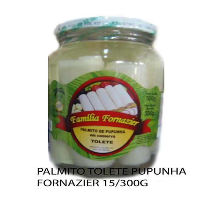 PALMITO TOLETE PUPUNHA FORNAZIER 15/300G