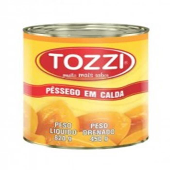 PESSEGO CALDA TOZZI CX.12/450GR