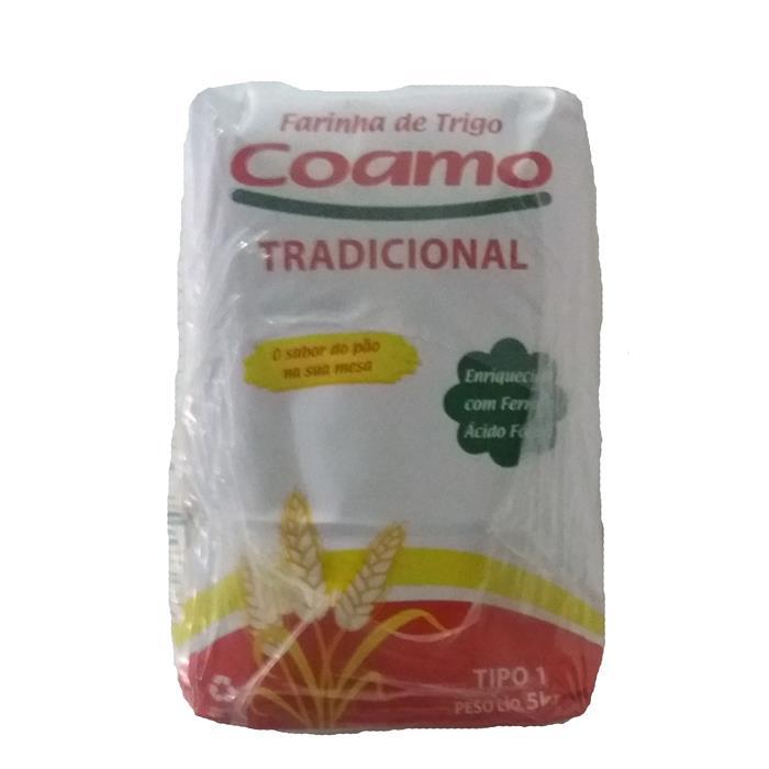 FARINHA DE TRIGO TRADICIONAL COAMO 5/5KG