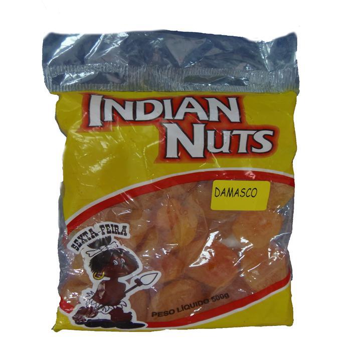 SEMENTE DAMASCO SECO INDIAN NUTS 25/500G