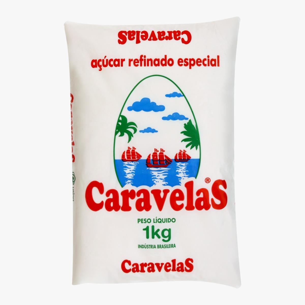 ACUCAR REFINADO CARAVELAS FD.10/1KG