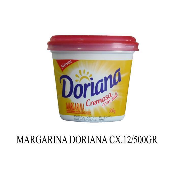 MARGARINA DORIANA C/ SAL CX.12/500GR