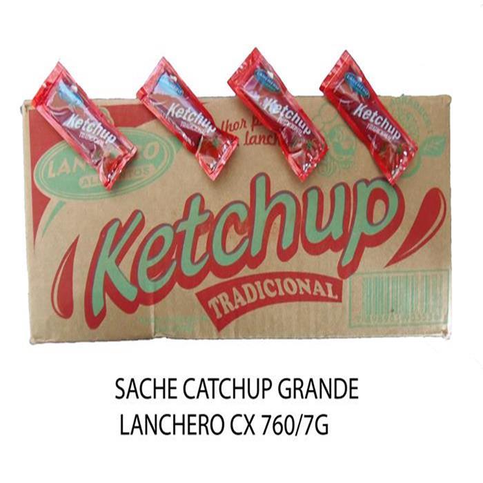 SACHE KETCHUP GRANDE LANCHERO CX 760/7G