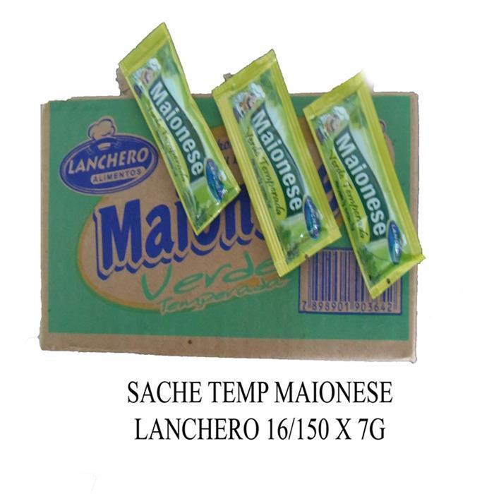 SACHE TEMP MAIONESE LANCHERO 16/150 X 7G