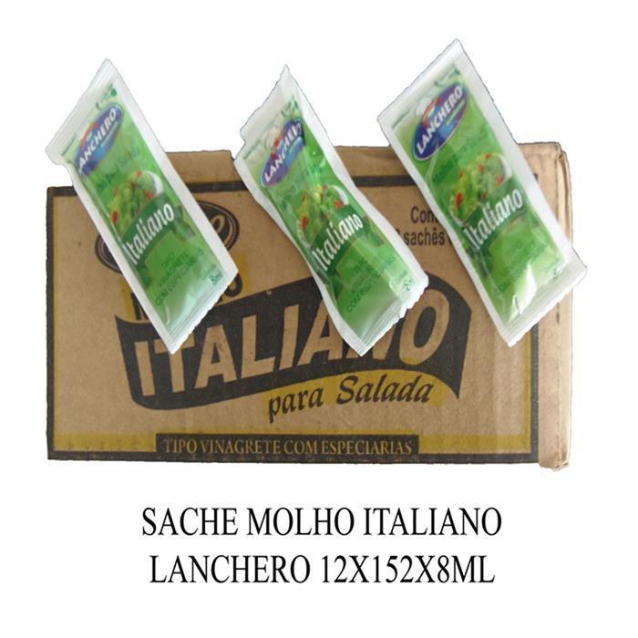 SACHE MOLHO ITALIANO LANCHERO 12X152X8ML