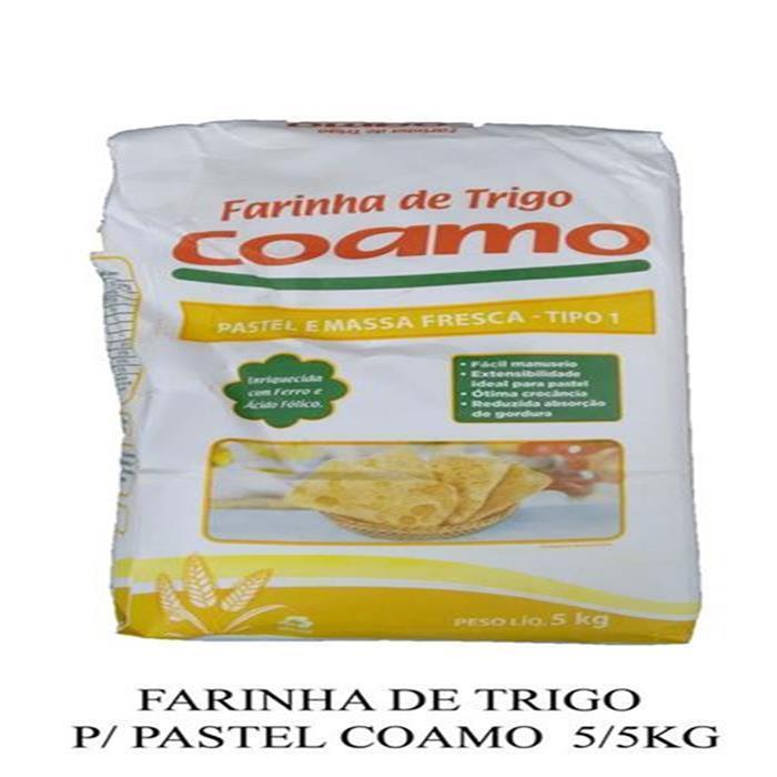 FARINHA DE TRIGO P/ PASTEL COAMO  5/5KG
