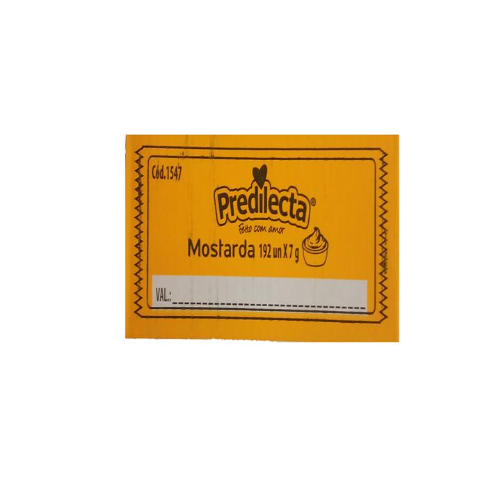 SACHE MOSTARDA PREDILECTA CX/192/7G