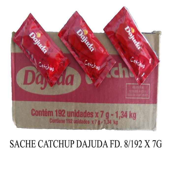 SACHE KETCHUP DAJUDA FD. 8/192 X 7G