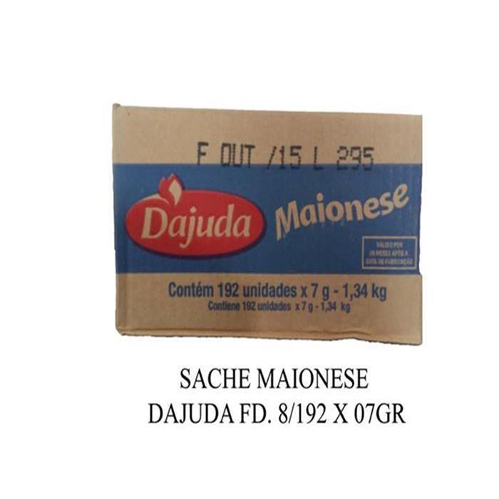 SACHE MAIONESE DAJUDA FD. 8/192 X 07GR