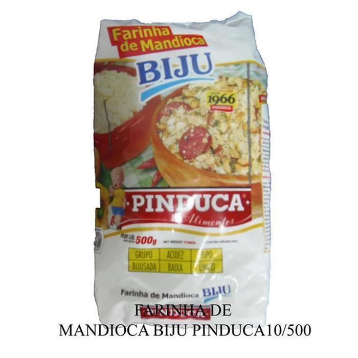 FARINHA DE MANDIOCA BIJU PINDUCA10/500