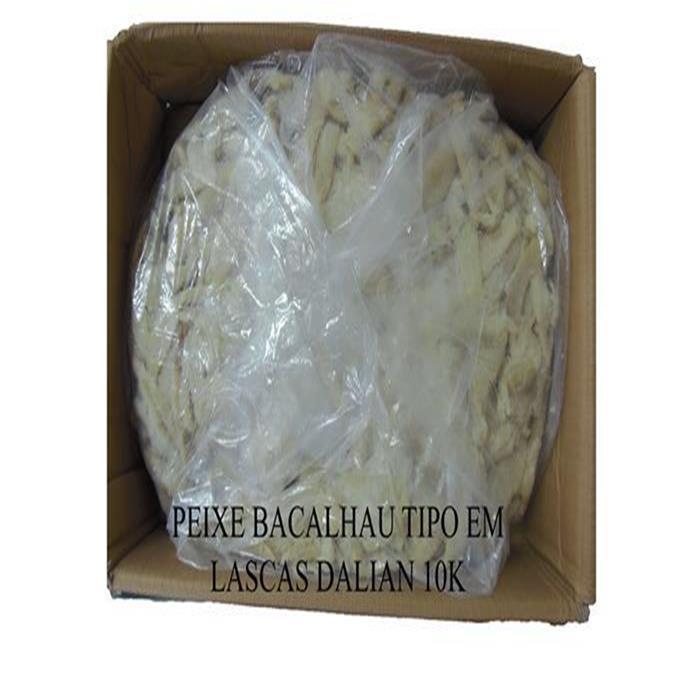 PEIXE BACALHAU TIPO EM LASCAS DALIAN 10K