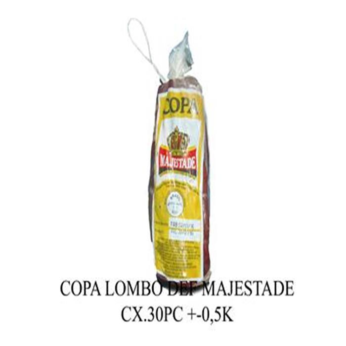 COPA LOMBO DEF MAJESTADE CX+-30PC/+-0,5K