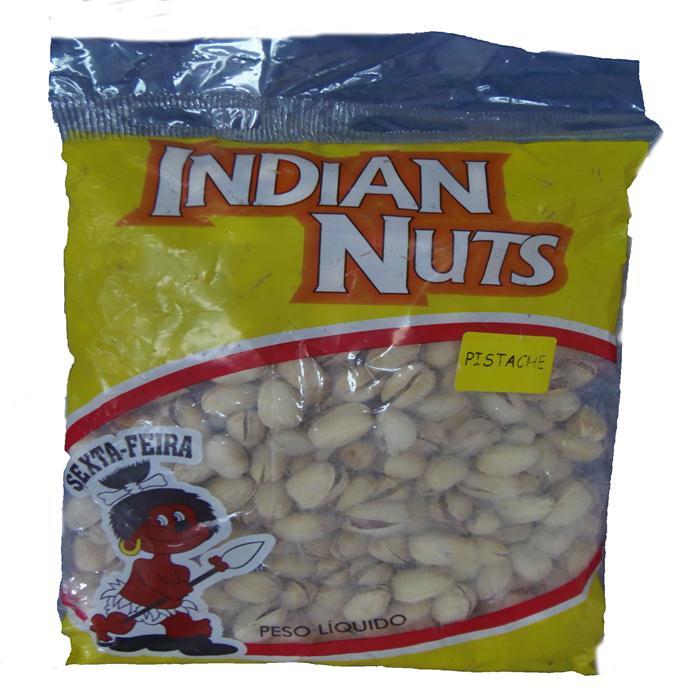SEMENTE PISTACHE INDIAN NUTS PCT 500GR