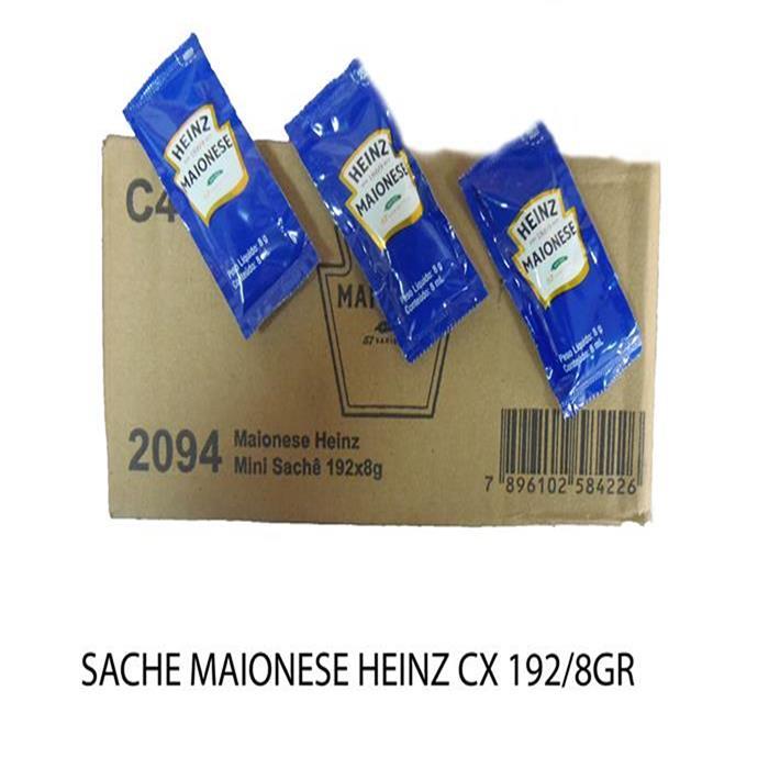 SACHE MAIONESE HEINZ CX 192/8GR