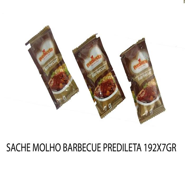 SACHE MOLHO BARBECUE PREDILETA 192X7GR