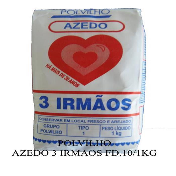 POLVILHO AZEDO 3 IRMAOS FD.10/1KG