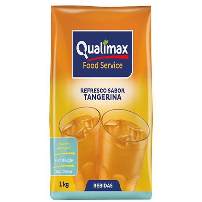 REFRESCO PO TANGERINA QUALIMAX CX10/1KG