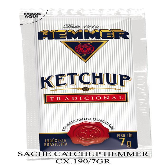 HEMMER SACHE KETCHUP CX.190/7GR