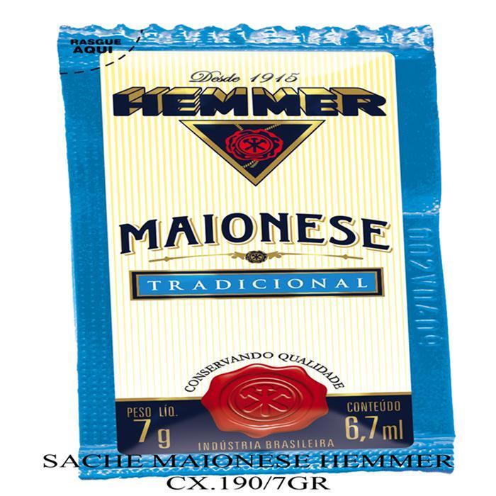 HEMMER SACHE MAIONESE CX.190/7GR
