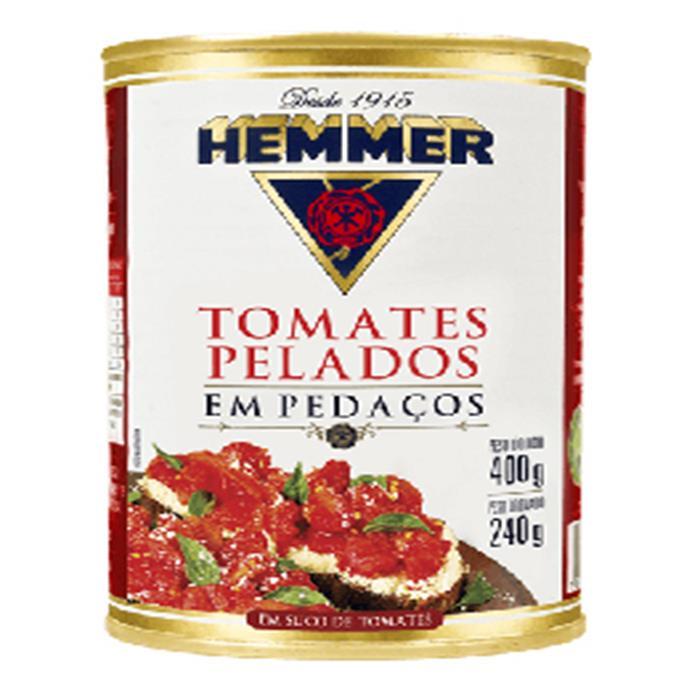 HEMMER TOMATE PELADO INTEIRO CX.24/240GR