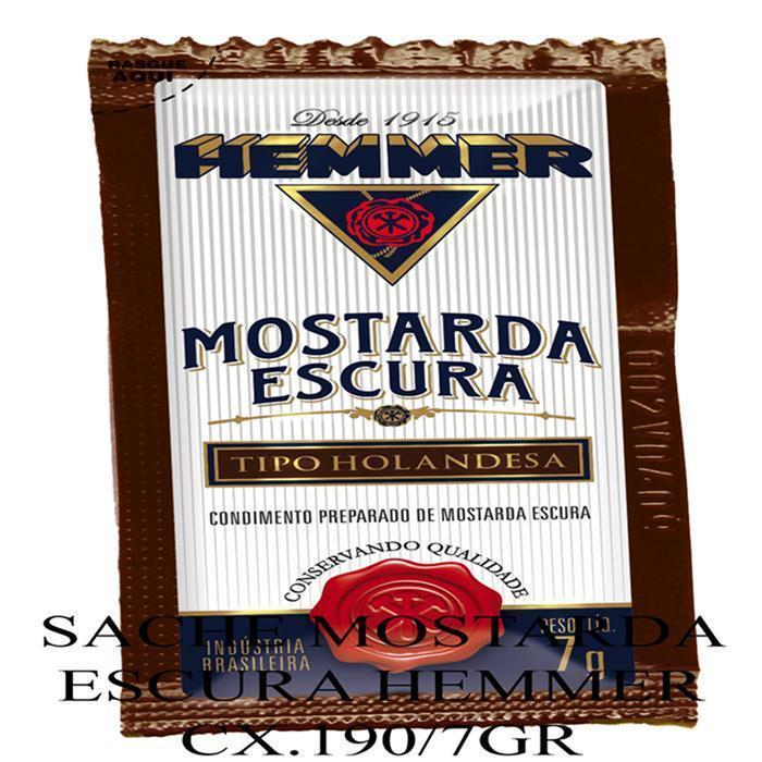 HEMMER SACHE MOSTARDA ESCURA CX.190/7GR