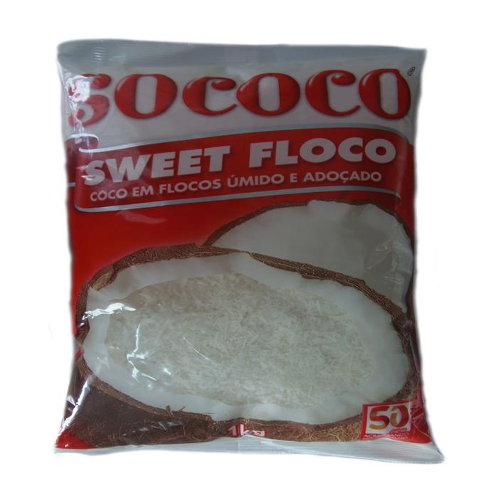 COCO FLOC UMIDO ADOCAD SWEET SOCOCO 12/1
