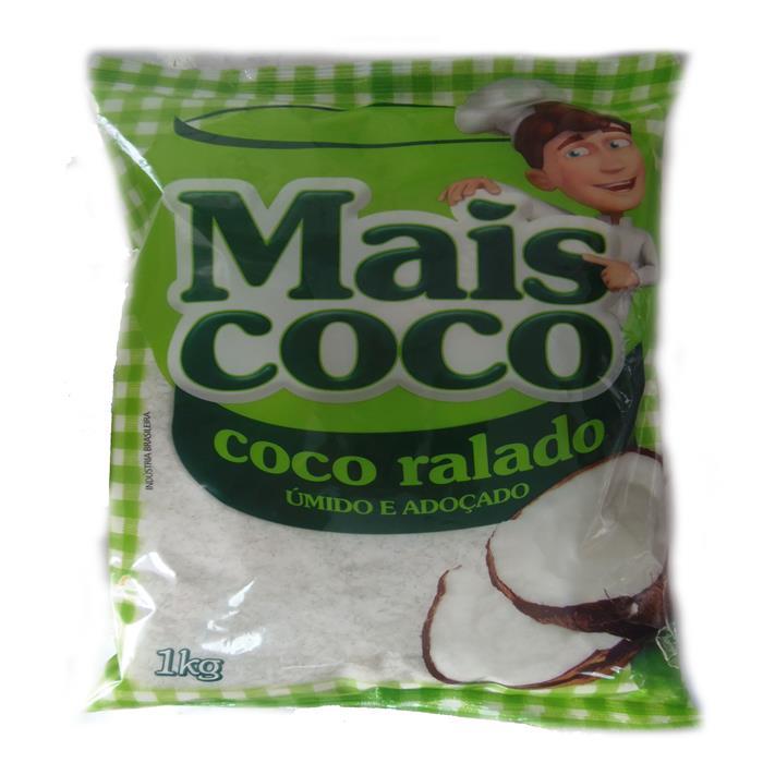 COCO RALADO UMIDO ADOCADO MAIS COCO 12/1