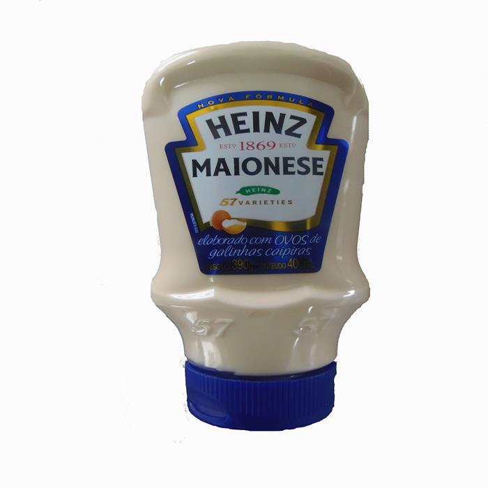 MAIONESE HEINZ PET CX. 16/390 GR