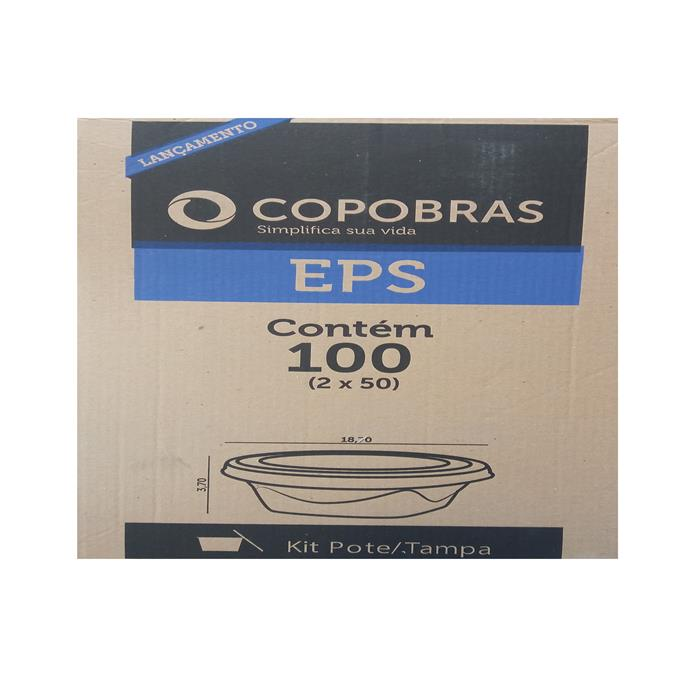 EMB BANDEJA N7 PT100 500ML FD COPOBRAS