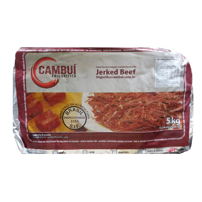 JERKED BEEF TRASEIRO CAMBUI CX 6/5KG