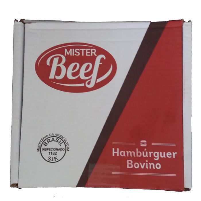 HAMBURGUER MISTER BEEF CX. 01X32X100GR