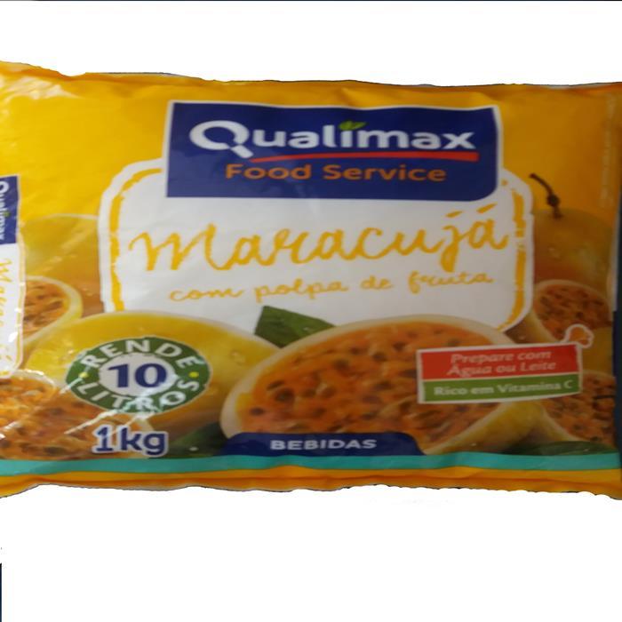 REFRESCO PO MARACUJA QUALIMAX CX10/1KG