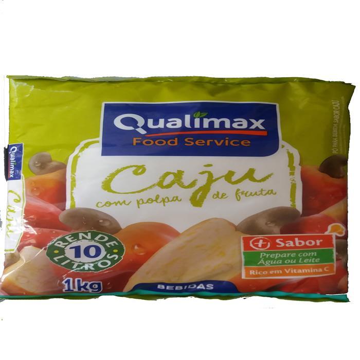 REFRESCO PO CAJU QUALIMAX CX10/1KG