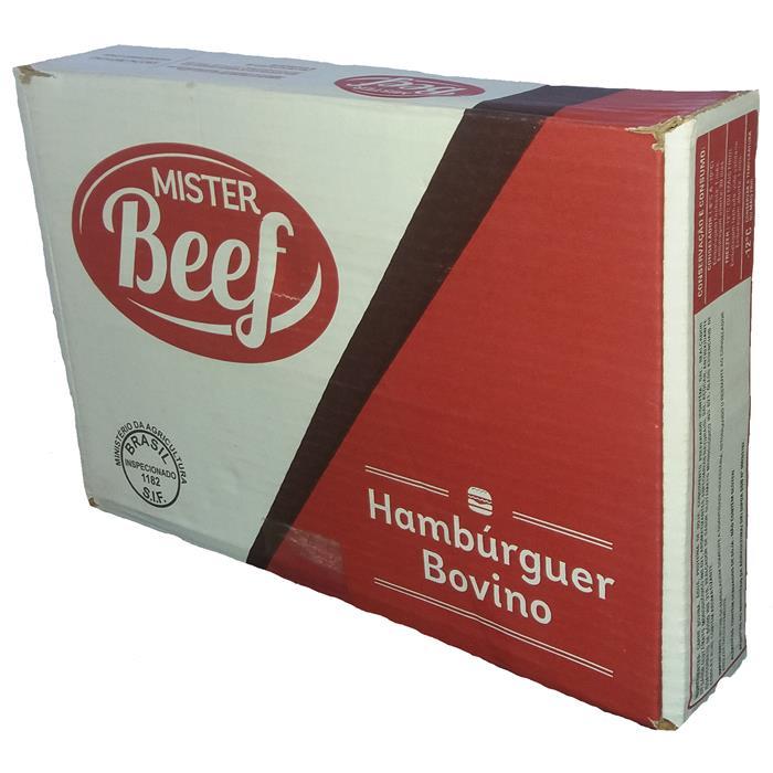 HAMBURGUER MISTER BEEF CX. 01X36X56GR
